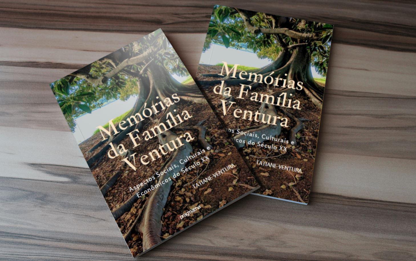Livro sobre memórias da Família Ventura já está à venda